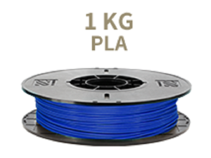 [Universal 3D Filament] XYZprinting PLA 3D Printer Filament, 1kg Spool, 1.75 mm, Blue [Also Works with da Vinci Jr/Mini/Nano Series, Extra Spool Holder Needs to be Printed]