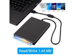 "3.5"" Portable USB 2.0 External Floppy Disk Drive 1.44MB For Laptop PC Win 7/8/10"