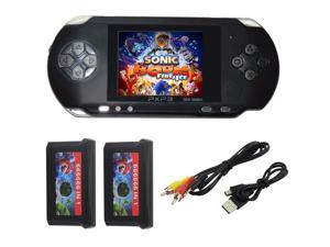 PXP3 Portable Video Games 16Bit Handheld Game Console 150 Retro Megadrive New