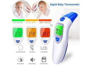Temperature Instruments Tools Faithful Lcd Digital Non-contact Ir Infrared Thermometer Forehead Body Baby Adult Medical Surface Temperature Meter Health Care