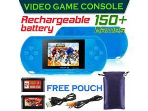 16 Bit PXP3 Portable Handheld Video Game Console 150+ Games 2 Free Cards