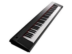 Yamaha NP-32 Piaggero Portable 76 Key Piano-Style Keyboard, Black #NP32B