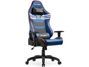 GTXMAN Gaming Chair Racing Office Executive Chair Comic Style Video Game Chair Premium PU Leather Ergonomic Computer Esports Chair for Gamers X-002