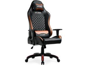 GTXMAN Gaming Chair Racing Office Executive Chair Comic Style Video Game Chair Premium PU Leather Ergonomic Computer Esports Chair for Gamers X-008