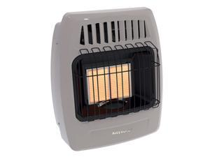 Kozy World KWN213 12000 BTU 2 Plaque Natural Gas Infrared Vent Free Wall Heater