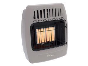 Kozy World KWP214 12,000 BTU 2 Plaque Propane Infrared Vent Free Wall Heater