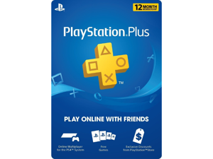Sony PlayStation Plus 1 Year / 12 Month Membership - Digital Code
