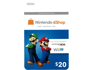 Nintendo eShop 20 Dollars (USD) - Digital Code