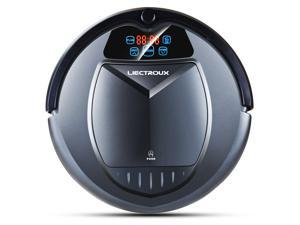 Liectroux B3000 Robot Vacuum Cleaner - Self Charging, HEPA Filter, Two Side Brushes, and Remote Control - Designed for Hard Floor and Shortpile Carpet