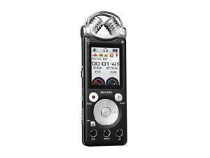 Professional Voice Recorder MILALOKO Double Mic HD Voice Activated Wireless Recording 16GB Noise Cancelling Metal Casing Digital Audio Dictaphone PCM Recording Device (V3 16GB)