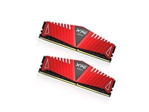 ADATA XPG Z1 DDR4 2400MHz (PC4 19200) 8GB (4GBx2) Memory Modules, Red (AX4U2400W4G16-DRZ)