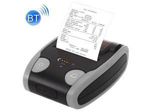 QS-5806 58mm Thermal Receipt Printer Portable Mini Wireless Bluetooth Thermal Printer USB Receipt Bill Ticket POS Printing(Grey)
