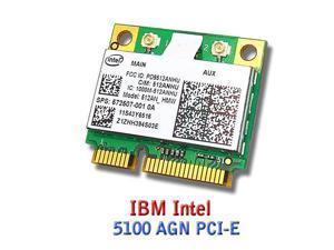 Intel Link 5100 Half 512an/_hmw Mini Pci-e Wireless Wifi Card 802.11 a B G N Cy256 H006k for Dell Laptop