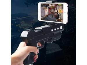 New Tech Entertainment Immersive AR-Gun RK2 Shooting Game Equipment Virtuality and Reality InterAction Bluetooth AR Gaming,   Bluetooth: 4.0 Version (Black)