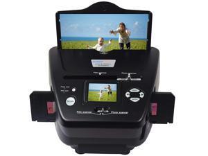 10MP Film/Slide Scanner, 35mm Negative/Slide/Photo High Resolution Scanner,Photo/Name Card/Film to Digital Converter for Save in SD Card