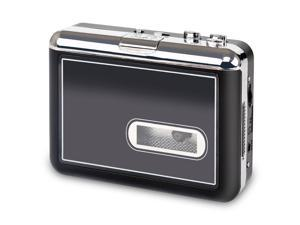 Cassette Player, Portable Cassette to MP3 Converter and Walkman Tapes Recorder Digital Audio Music Player with Earphones, no PC Compatible, Directly save into TF card