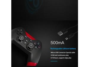 Wireless Bluetooth Game Controller Vibration Gamepad for PS 3 and PC Video Games
