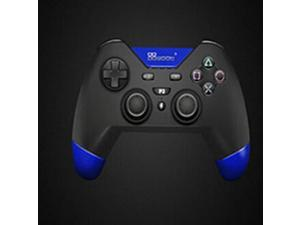 Blue Wireless Bluetooth Game Controller Vibration Gamepad for PS 3 and PC Video Games