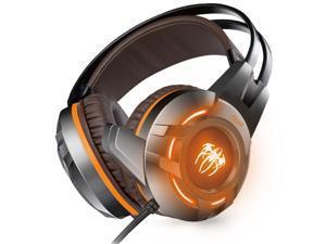 e41c21c40a6 E-books LED Gaming Over-Ear Noise Cancelling Headset Headphone with Soft  Memory Earmuffs