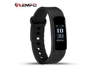 LEMFO I3 HR Smart Wristband 0.96 Inch Screen Heart Rate Monitor Fitness Tracker ...