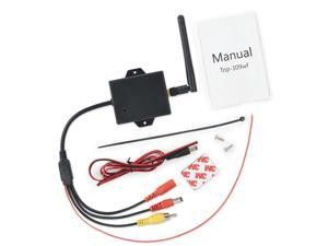 2.4G Wireless Video Transmitter Receiver Kit For Car Rear View Camera Reverse