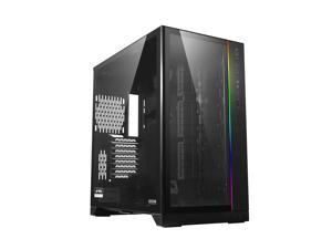 LIAN LI O11 Dynamic XL ROG certificated -Black color ---Tempered Glass on the Front, and Left Side. E-ATX ,ATX Full Tower Gaming Computer Case---O11D XL-X