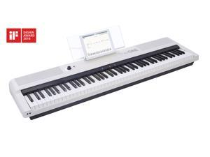 The One Music Group TON1W Smart 88-Key Keyboard Pro - White