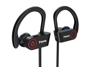 03285a51d08 ALH Bluetooth Wireless Headphones, Fnova Sports Waterproof Sweatproof IPX7  Earphones HD Stereo V4.1