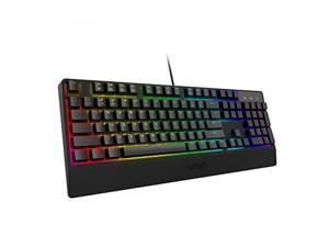ALV VAVA Mechanical Keyboard With Blue Switches, 16.8 Million RGB Backlit 104-key Anti-Ghost Gaming Keyboard (Non-Fading UV Coating for Professional Responsiveness, Cascading Key Design, For PC & Mac)