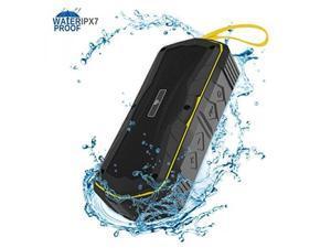 ALB Ula Outdoor Bluetooth Speakers, IPX7 Wireless Speakers Waterproof, Built-in 4000mAh Power Bank, Bluetooth 4.1 Shower Speakers for Sports, Beach, Travel, Shower, Home(33 Feet Range)