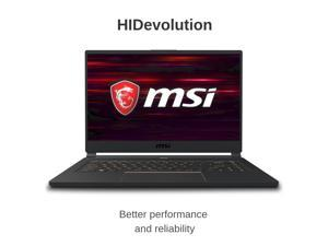 "HIDevolution MSI MSI GS65 9SG Stealth 15.6"" FHD 240Hz 