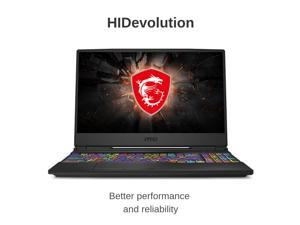 "HIDevolution MSI GL65 9SEK 15.6"" FHD 120Hz 