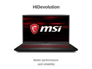 "HIDevolution MSI GF75 Thin 9SC 17.3"" FHD 120Hz 
