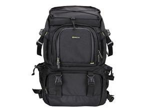 f81767c391 Evecase Extra Large DSLR Camera   15.6 inch Laptop Travel Daypack Backpack  Accessories Lens ...
