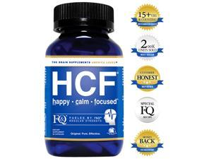 HCF Brain Supplement. Helps Improve Memory. Increase Focus & Attention. Enhance Mental Clarity & Alertness. Boost Mood & Support Calm & Happy Feelings. FQ is Different.