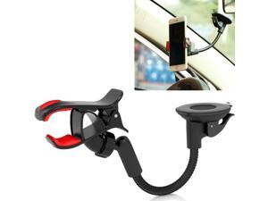 2ffeb583a1e2bc Premium Easy Mount Car Holder Windshield Dash Cradle Stand Window Glass Swivel  Dock Strong Suction L1G