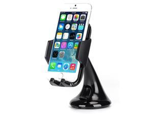 Premium Car Mount Holder Windshield Dash Cradle Stand Window Glass Swivel Dock Suction P4E for iPhone