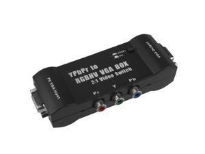 MayFlash YPbPr to RGBHV VGA Box 2:1 Video Switch