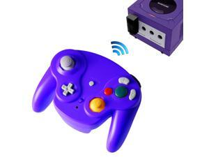 2.4G Wireless Controller JoyPad Gamepad for Gamecube NGC Violet