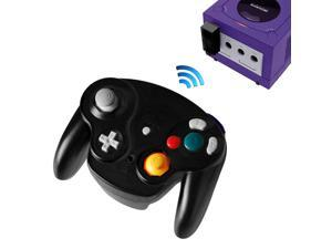 2.4G Wireless Controller JoyPad Gamepad for Gamecube NGC Black
