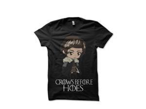 4900f3d47 Jon Snow Black T-Shirt