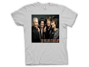 efc9216d7 The Rolling Stones - Band Portrait - Lips T-Shirt