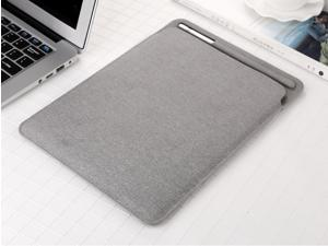 """Nappa PU Leather Skin Case Sleeve Cover Holder for 10.5""""/ 9.7"""" iPad 2/3, iPad Air 1/2 with Apple Pencil Slot"""