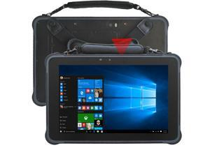 Sincoole 10.1inch windows 10 pro rugged tablet PC with hot swap battery and 2D barcode scanner, 4GB +64GB storage 1920*1200 resolution sunshine readable screen, RJ45 and RS232 slot, SIM slot, 4G LTE