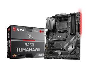 MSI ARSENAL GAMING B450 TOMAHAWK AM4 AMD B450 SATA 6Gb/s USB 3.1 HDMI ATX AMD Motherboard