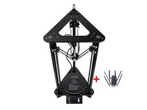 EZT3D 3D Delta DIY 3D Printer Kit F180300320mm Large Printer Size Modular High Precision Support Intelligent Leveing/Auto Change Filament/Multi Language to Swich T1-M (1.44 Inch LCD, Without Laser)