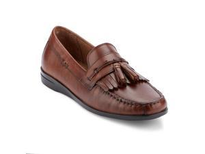 076203859e69 Dockers Mens Freestone Leather Dress Casual Tassel Loafer Shoe