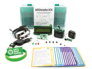 Ultimate Coding Kit For Kids   Typed Coding and STEM Toy for Kids 10-15   Lessons Included!