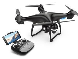 Holy Stone - HS100 Wifi FPV Drone with 720P Camera and GPS, Black