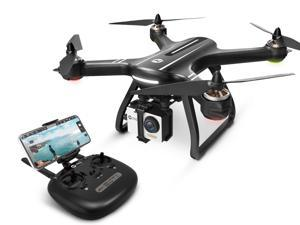 Holy Stone - HS700 Brushless Motor 5G Wifi FPV Drone with 1080P FHD Camera and GPS, Black